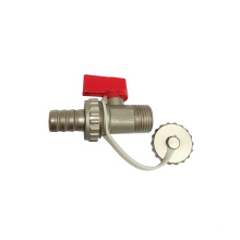 Brass ball valve with Chain